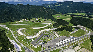 Formula 1 beim Red Bull Ring in Spielberg in der Region Murau