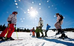Winter enjoyment at the start of season at Kreischberg