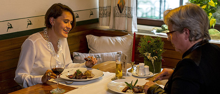 Dinner for two in the Murauer Gasthof Hotel Lercher